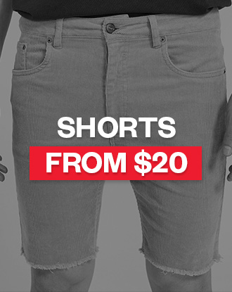 Shop Mens Shorts from $20