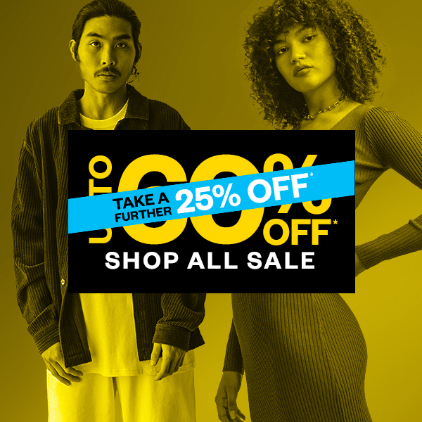 Take A Further 25% Off Sale