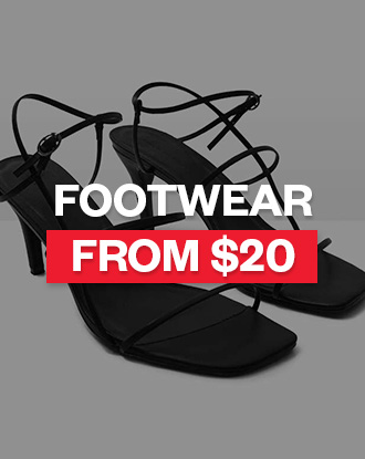 Shop Womens Footwear from $20